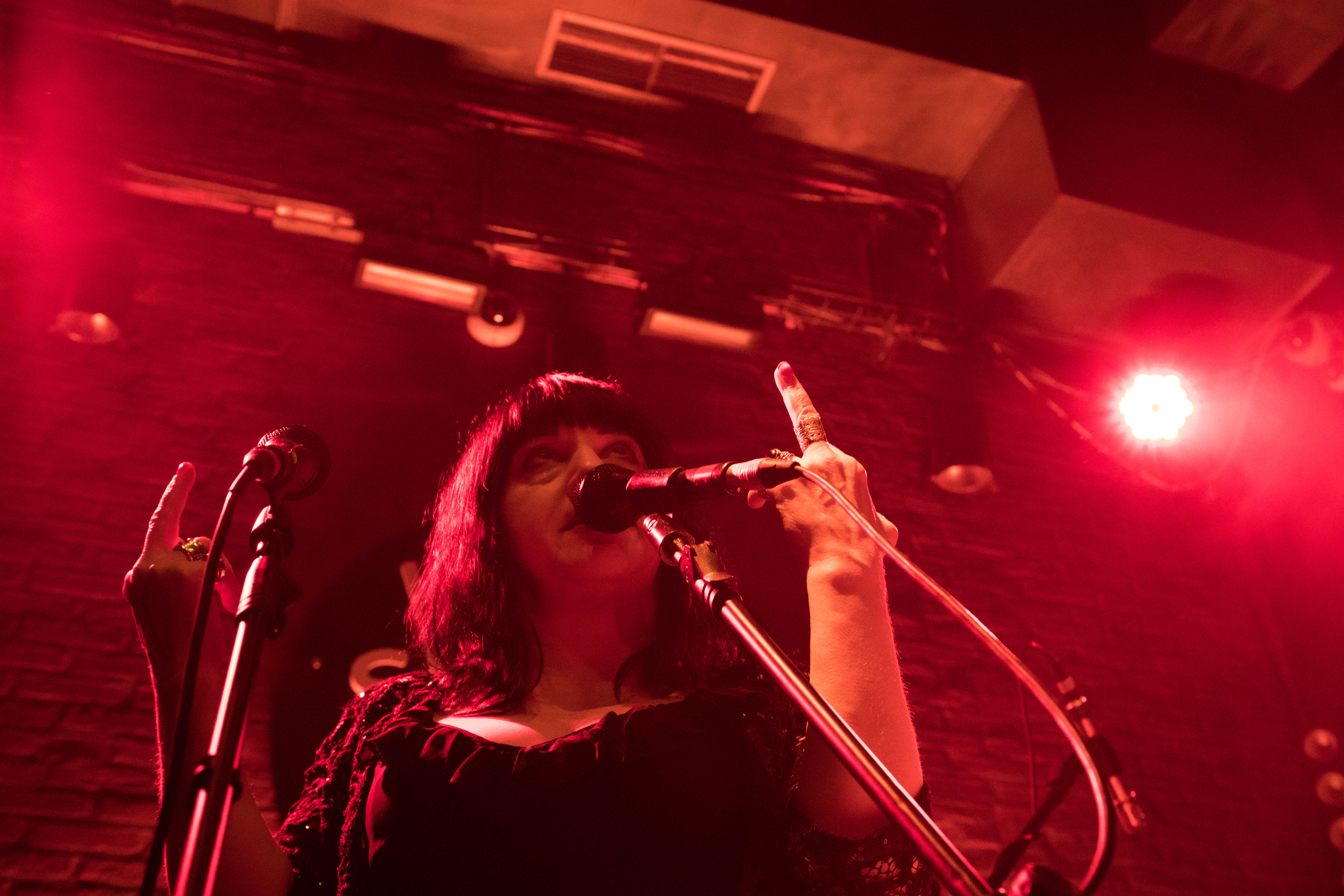 © Lydia Lunch by Justine Paquette